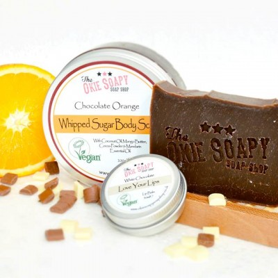chocolate pampering gift set
