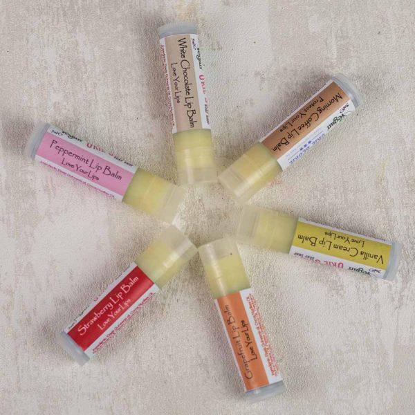 The Okie Soapy Soap Shop lip balms
