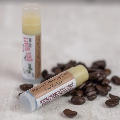 morning coffee lip balm