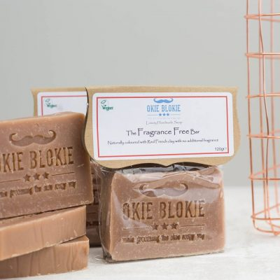 mens fragrance free soap